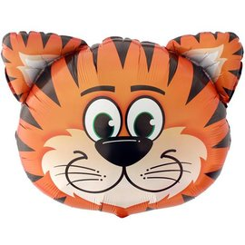 Foil Balloon - Smiling Tiger - 30""