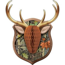Wall Cutout-Honeycomb Moose-19.36''x16.05''