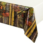 Tablecover - Plastic -Rectangle - Hunting Camo - 54''x102'' - 1pc