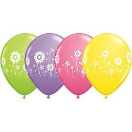 """Latex Balloon-Flower Garden Assortment-1pkg-11"""""""