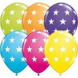 """Latex Balloon-Big Stars Assortment-1pkg-11"""""""