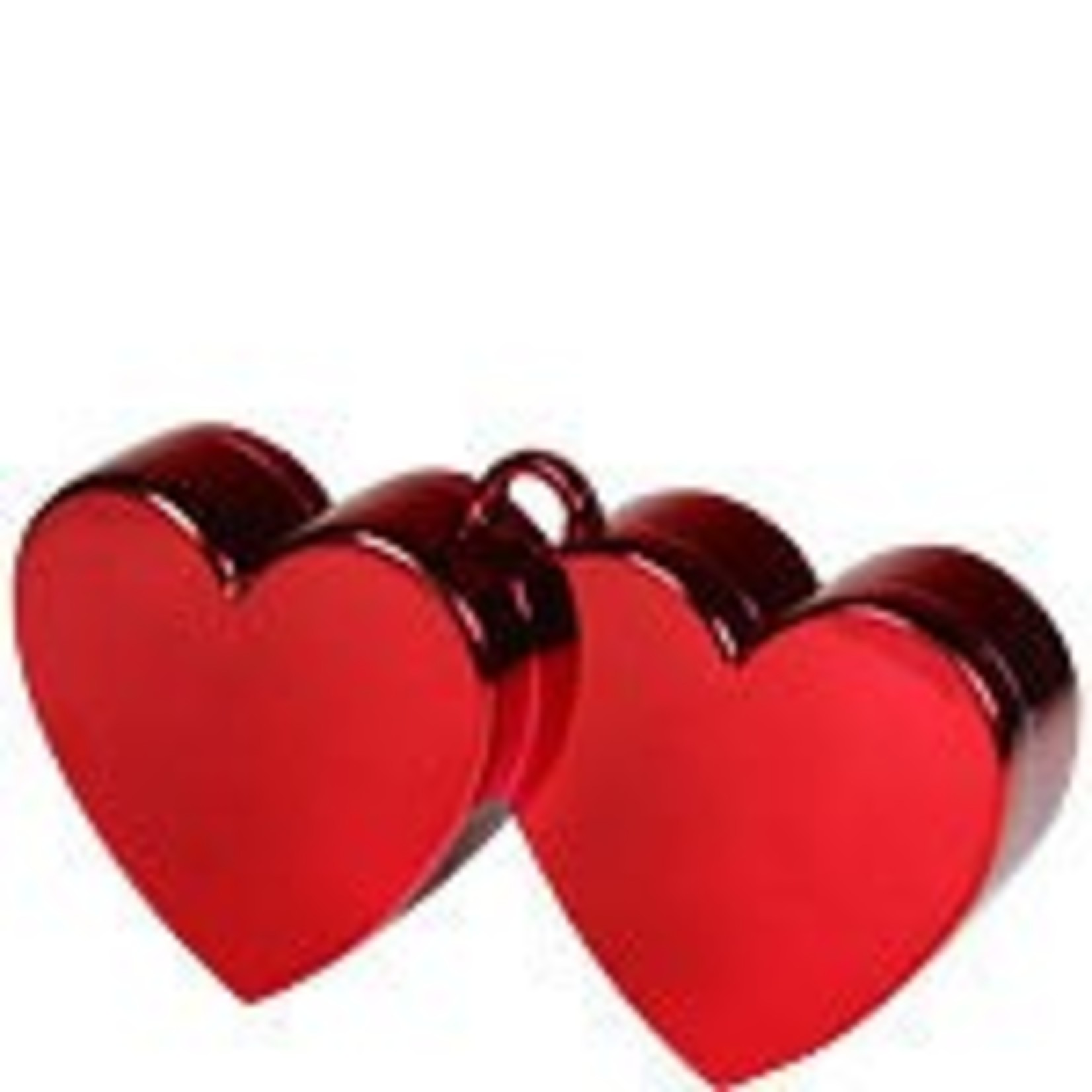 Balloon Weight - Red Double Hearts