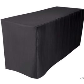 Fitted Tablecover - Black