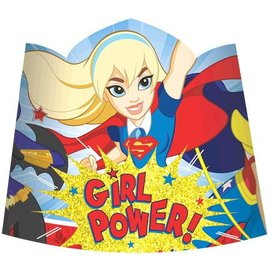 Paper Tiaras - DC Superhero Girls - 8pc