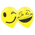 "Balloons - Latex - Emoji LOL - 12"""
