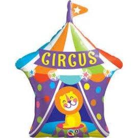 "Foil Balloon-Giant Circus 36"""
