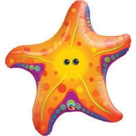 "Foil Balloon-Giant Starfish 30"""