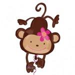 """Foil Balloon-Giant Monkey 40"""""""