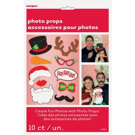 Christmas Photo Props 10pc