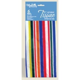 Tissue Paper-Colourful Stripes