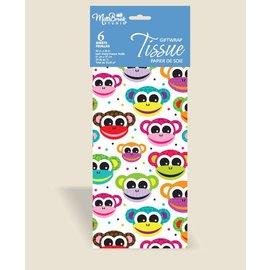 Tissue Paper-Monkeys