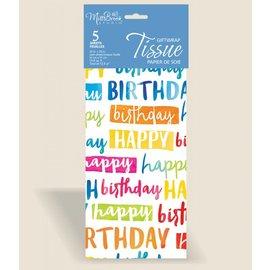 Tissue Paper-Happy Birthday