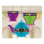 Hanging Decorations - Mad Tea Party-10.6''-3pk