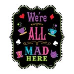 Cutouts - Mad Tea Party
