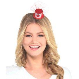 Hat Hair Clip - Canada Flag
