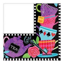 Napkins LN - Mad Tea Party- Discontinued/Final Sale