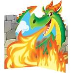 Centerpiece - Dragon Party-9''x9''