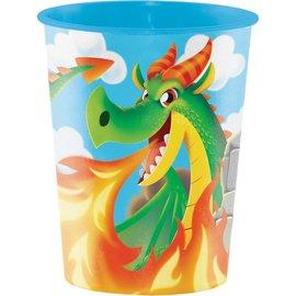 Favour Cup - Dragon Party-16oz-Plastic
