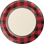 Plates Luncheon - Buffalo Plaid