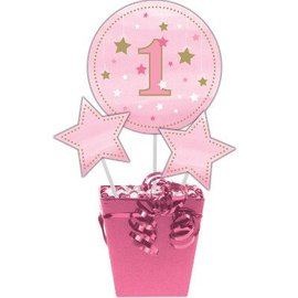 Centerpiece Sticks - One Little Star Pink