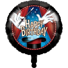 Foil Balloon - Magic Party 18""