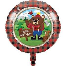 "Foil Balloon - Lumberjack 18"""