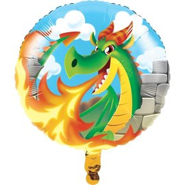 "Foil Balloon - Dragon Party 18"""