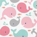 Luncheon Napkins-Lil Spout Pink-16pk-2ply