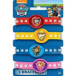 Bracelets -Paw Patrol-4pk