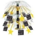 "Centerpiece-Metallic Cascade-Movie Set Clapboard-1pkg-18"""