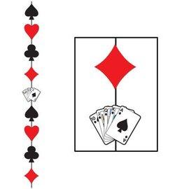 Hanging Stringer-Casino Card Suits-1pkg-6.6ft