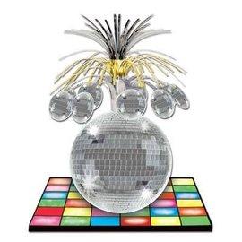"Centerpiece-Cascade-70's Disco Ball-1pkg-13"""