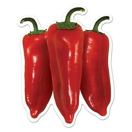 Cutouts-Mini Chili Peppers-10pkg-4.5""