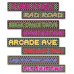 """Cutouts-Totally 80's Street Signs-24"""""""