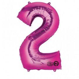 "Foil Balloon - Pink - #2 - 22""x33"""