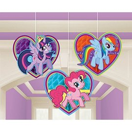 Hanging Decoration-Honeycomb-My Little Pony-3pkg-6.3""