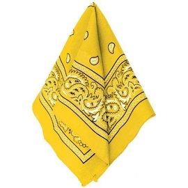 Bandana-Yellow-20''x20''