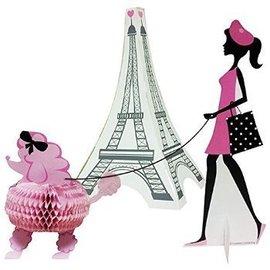"""Centerpiece Kit-Honeycomb-Party in Paris-3pkg-4""""-11"""""""