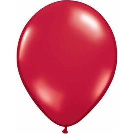 "Latex Balloon-Jewel Ruby Red-1pkg-11"""