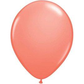 """Latex Balloon-Coral-1pkg-11"""""""