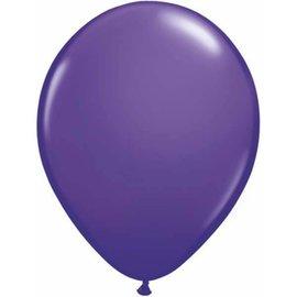 "Latex Balloon-Purple Violet-1pkg-11"""