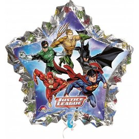 Foil Balloon-Justice League Star Super Shape Balloon 34""