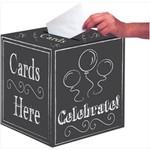 Card Box-Chalkboard
