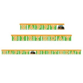 Jointed Banner-Happy Birthday Tractor-5.6ftx4.25in