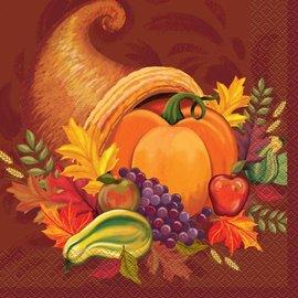 Napkins LN Fall Harvest (16 PK )