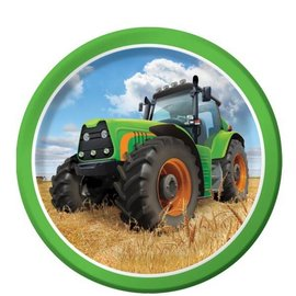 Tractor Time-BEV Plates 8pk