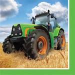 Napkins-BEV-Tractor Time-16pk-2ply- Final Sale