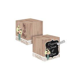 Card Box-Paper Wedding Card Box