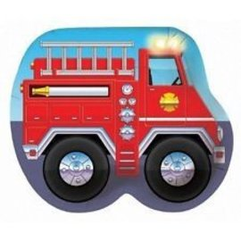 Firefighter Shaped Plate