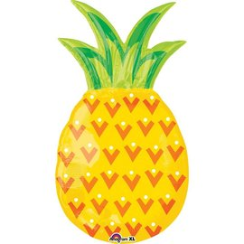 Foil Balloon-Supershape-Yellow Pineapple-31""
